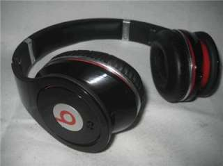 Black and Red Doctor Dre Beats Studio Headphones From Monster