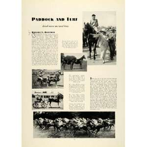 Horse Racing Jockeys Harness Racing Mary Tipton Macy Willetts Derby