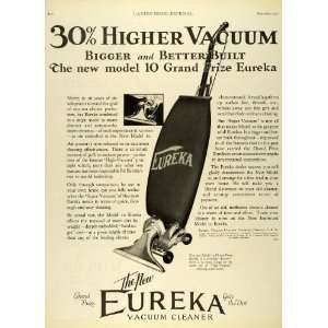 1927 Ad eka Model 10 Vacuum Cleaners Grand Prize Household Dirt