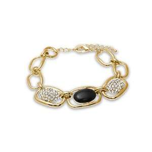 Ladies Fashion Jewelry Golden Tone Cirque Chain Bracelet Jewelry