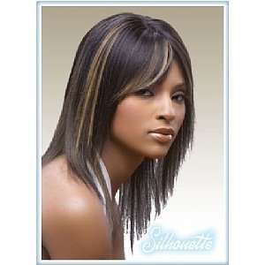 Julie H II Human Hair Full Cap Wig Jet Black Beauty