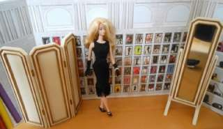 Barbie 2006 Convention Mirror & Screen~Fit Fashion Royalty~Nu Face