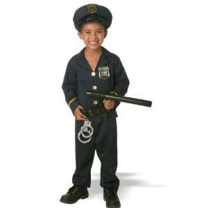 Junior Policeman Costume (Boy   Toddler 2T 4T) Toys