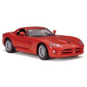 Testors 1/24 Dodge Viper Car Model Kit Toys & Games