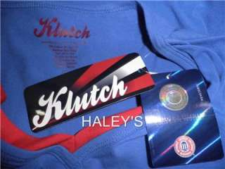 Jayhawks Klutch Blue Red KU Collegiate Shirt Top Misses Size M, XL