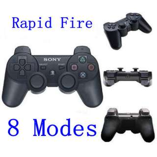New Moded Sony PS3 Rapid Fire Modded Controller 8 Modes