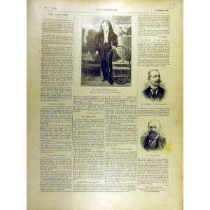 1895 Portrait Dumas Laroche Bourde French Print Home & Kitchen