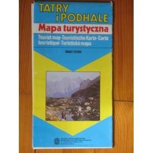 Tatry I Podhale   Mapa Turystyczna [ Tatras & podhale