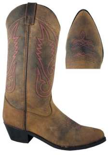 NEW Taos, Western, Cowboy, Leather, Womens Boots
