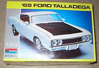 Monogram 1969 Ford Talladega 1/24 Model Kit