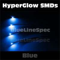 Blue LED Glow Lighting Interior Neon Lights BMW E46 E90 E30 3 Series