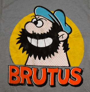 popeye the sailor man brutus bluto vintage style cartoon t shirt tee