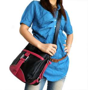 Leather Womens Fashion Sling Messenger Bag Cross Boddy Shoulder