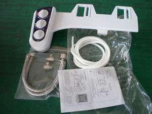 Dual Nozzle Hot & Cold Water Bidet Attachment 4 Toilet