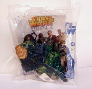 Meal Star Wars Episode 3 BOGA Monster Plush Figure Sealed BAG