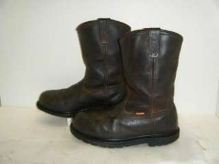 Mens Steel Toe Work Boots sz 9m (#10008)