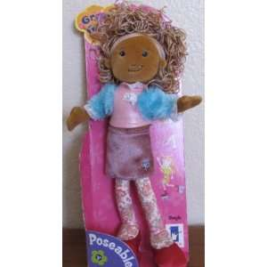Groovy Girls Poseable Doll   Shayla (AA) Toys & Games