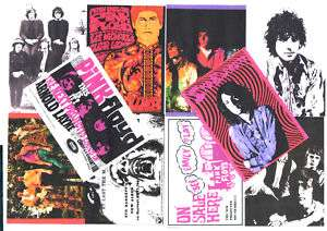 10 POSTCARDS. SYD BARRETT and PINK FLOYD.