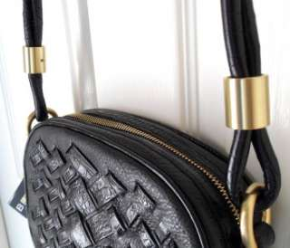 NWT Brahmin Melissa Dream Weaver Black Crossbody