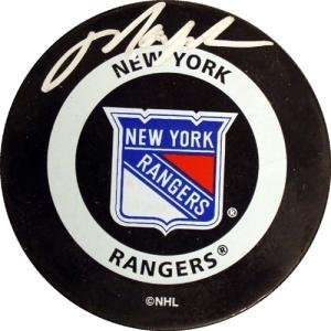 Mark Messier Hand Signed NYR Puck
