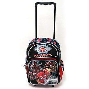 NEW BAKUGAN BATTLE BRAWLER 16 LARGE ROLLING BACKPACK BAGS FOR KIDS