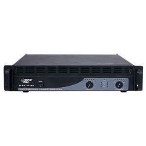 Quality 1400W Pro Audio Power Amp By Pyle Electronics