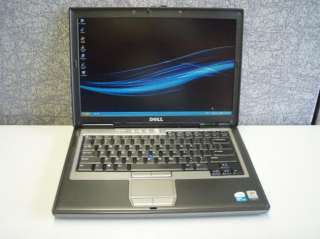 RED Dell Latitude D620 Cheap Laptop Core2Duo 1.83GHz 2GB 120GB Nice