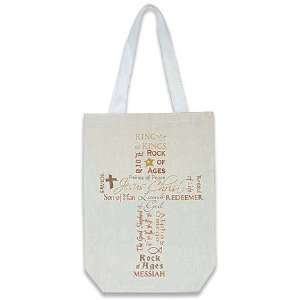 Names of Jesus Cross Bible Book Bag Catholic Sunday School