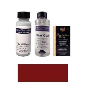 2 Oz. Burgundy Pearl Metallic Paint Bottle Kit for 1988 Nissan