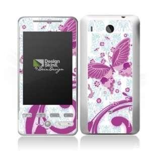 Design Skins for HTC Hero   Pink Butterfly Design Folie