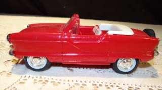 RARE 1959 Metropolitan Convertible, Mardis Gras SOLID Red PROMO Car