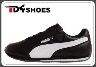 Puma Rio Racer S/L Black White 2011 Mens Retro Running Casual Shoes