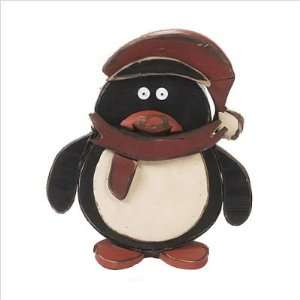 Orman Inc. 19073 16 Wooden Holiday Penguin