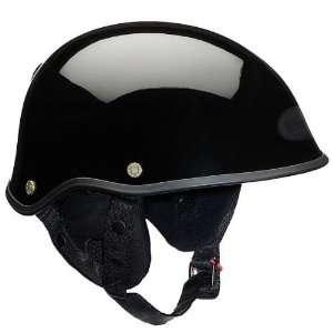 Bell Solid Drifter Harley Cruiser Motorcycle Helmet   Gloss Black / 2X