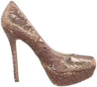 Womens Shoes NIB Steve Madden BEVV Platform Stiletto Pumps Heels Gold
