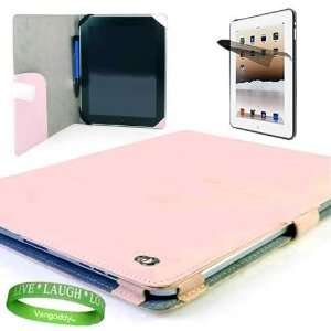 Melrose Apple Ipad Leather Case Pink Cover Accessories Kit