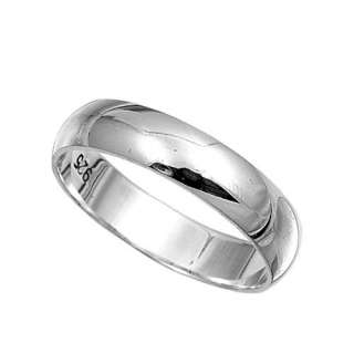 Personalized Stainless Steel High Polish Ring