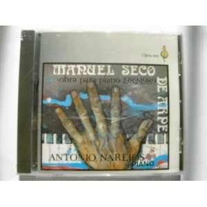 Manuel Seco   Works for Piano 1982 1989 (Obra Para Piano) Manuel Seco
