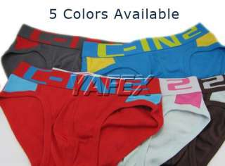 100%Cotton Sexy Mens Sports Underwear Briefs Boxers Shorts Bottom
