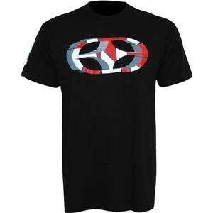 No Fear Broken T Shirt   Medium/Black/Red Automotive