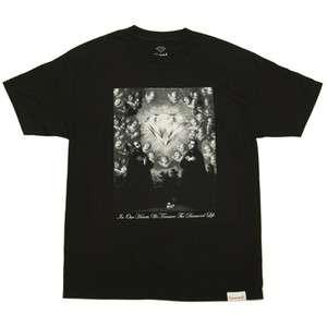 Diamond Supply Co. Sacred Heart T Shirt   Black
