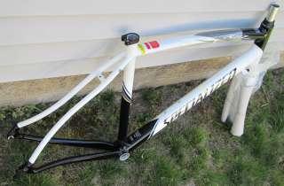 2010 Specialized ALLEZ ELITE FRAMESET Frame/Carbon Fork SAXO BANK 56cm