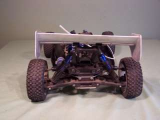KYOSHO INFERNO MP5 GAS POWERED CAR and EXTRAS HOBBICO STARTER REMOTE