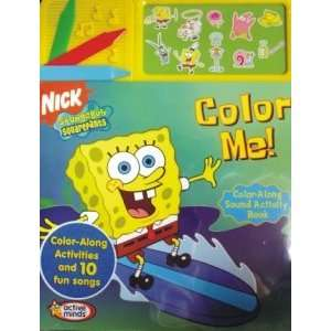 Nickelodeon Spongebob Squarepants Color Me Color Along