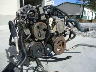 93 LT1 Firebird Camaro V8 4L60 Automatic Pullout Motor Engine
