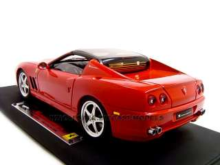 scale diecast model of ferrari super america super elite die cast car