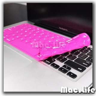 SL HOT PINK Keyboard Cover Skin for NEW Macbook Pro 13