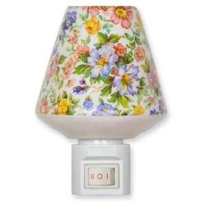 Ceramic Night Light   Assorted Flowers Nightlight