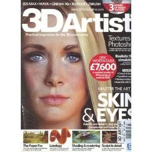 3D Artist Magazine # 37: Sarah Slee: Books
