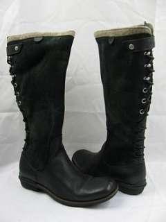UGG Australia Smithfield Boots Black Used Women 8 EU 39 MSRP $328